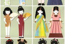 Around the World in Eighty Dolls / by Julie Watt