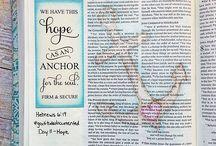 Hebrews Bible Journaling