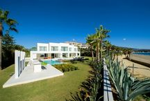 Properties for sale in Golden Mile, Marbella / A selection of images of properties for sale on The Golden Mile, Marbella (Costa del Sol) available on the Crystal Shore Properties website.
