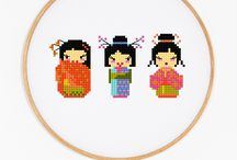 Inspi broderie/tricot