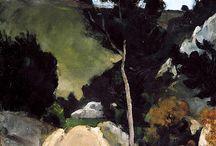 Landscape painting (Expressionist/Impressionist)