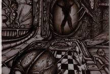Biomécanique / Biomécanique,tattoos,hr giger,horror
