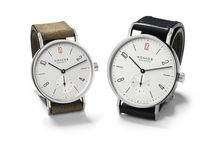 NOMOS & MSF / These watches raise funds for Doctors Without Borders' humanitarian assistance in crisis zones—providing clean water, operations, and medicines to those who need it most. NOMOS Glashütte has produced two special edition models for the German, UK, and USA markets; ensuring better times for many.