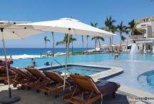 Los Cabos / Resorts in Los Cabos, Mexico. This destination has 2 areas: San Jose Del Cabo, authentic, old town, with many resorts dotted beachfront. Then Los Cabo, with the Marina, and lots of action.