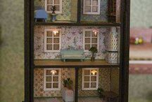 Dollhouse made from stuff