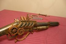 Steampunk rifle ideas / by Senja Collins
