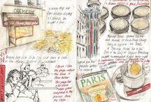 Travel Journaling / Because travel + art = Yay!