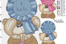 Punto Croce - Cross Stitching