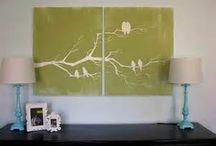 Bild mit Pinsel malen / und basteln