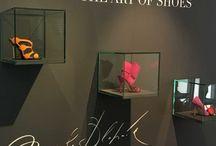 Manolo Blahnik - Art of Shoes Exhibition, Prague, 2017