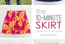 easy sewing skirt