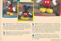 Mickey Mouse z fondánu