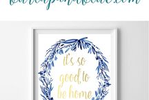 free printable - baby room