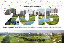 Happy New Year / Team Jaypee Greens wishes you a bright, prosperous and Happy New Year.