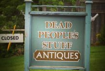 Dead People's Stuff Antiques / Available at Dead People's Stuff Antiques in Bloomfield Ontario