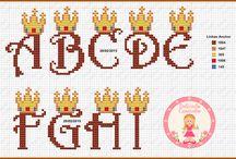 Alfab. Ponto Cruz Rei Leão