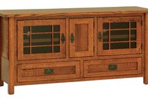 TV Stands / An exquisite collection of television display stands complete with stylish cabinet and shelf collections to house all your home entertainment items.