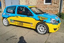 LB Trans Racing - Jan Lunga (Renault Clio) / Design and wrap - 2014.