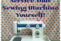 Servicing your sewing machine