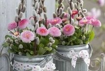 Frühlingsdekoration