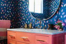 Colourful Playful Bathrooms