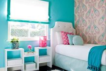 HOME - GIRL ROOM / by A BLISSFUL NEST | ABLISSFULNEST.COM