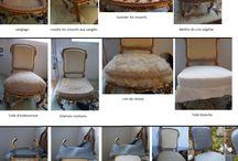 tapisserie de fauteuil