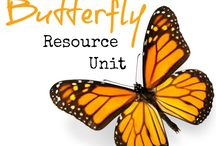 Butterflies Study Ideas and Activities / Study Ideas | Activities | Homeschooling | Educational | Butterfly  | Printables | Learning | Unit Studies | Crafts | Butterflies | Caterpillars