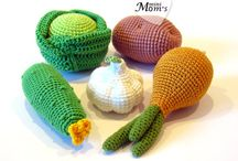 Crochet Vegetables and Fruits
