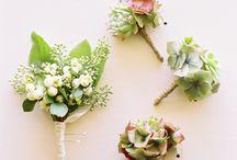 Wedding Boutonnières Ideas
