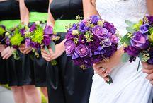 Tina's wedding colors :)