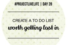 To Do List Obsession / There's nothing I like more than a good to do list, perfect for productivity at work.