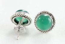 Gemstones Earring Stud