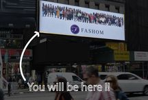 Fashom Billboard / This summer we at @myfashom are promoting our Fashom users in a billboard campaign in Times Square! We would love for you to showcase your style on our billboard.  DM us if you want to be a part of an amazing opportunity. #fashion #contest #billboard #fashionbloggers