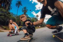 "#BEAHERO / ""Be a HERO inspires you to do your best at what ever you do. For example...being a HERO as a dad means dragging myself out of bed too early every morning to play ""the wall game"" beanbag battle with my kids."" -Nick Woodman, GoPro CEO / by GoPro"
