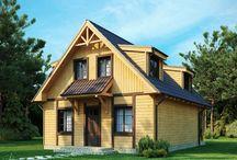 Projekty domów z bali drewnianych / Projekty domów z bali drewnianych to ukłon w stronę sprawdzonej od wieków technologii. We współczesnym budownictwie stanowią dziedzinę ekstrawagancką - zarezerwowaną dla wtajemniczonych fachowców. Odpowiednio konserwowane domy z bali drewnianych są równie trwałe, jak domy murowane. Doskonałe dla osób spragnionych kontaktu z naturą. Powrót z miejskiego gwaru do takiego domu zawsze będzie radością.