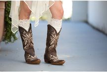 Boots, boots, and more boots! / by Lindsey Stronczek