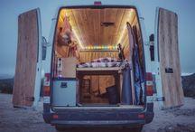Camper / Zelfbouw camper ideeen