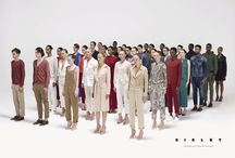 Sisley SS17 Campaign - The Geometry of Fashion / Rectangular formations of thirty-five beauties, grouped to form different color arrangements: the new Sisley Spring Summer 2017 Campaign focuses on a geometric approach and human bodies for aesthetics that goes beyond fashion.