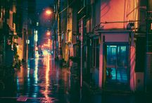 Luci e ombre della città/ Lights and shadows of the city / cityscape photography