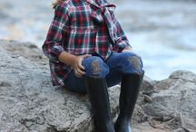 Powerful Plaid / Clothes made using plaid fabric. Inspiration for sewing with plaid fabric.