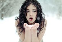 winter potrait ideas