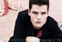 EDITORIAL - THOMAS - OHLALA MAG / EDITORIAL OHLALA MAG - Los Angeles model: Thomas @Rock Men photographer: IAN MIND