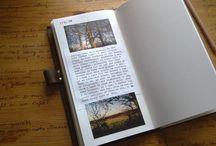 notebook/moleskine/diary