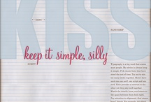 Type / So many great ideas for typography. This is where I will stor them all!