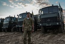 Army Trucks UAF / Військові автомобілі ЗСУ, НГУ...