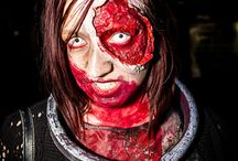 Zombie Makeup Tutorials / Create your own gruesome zombie costumes with these easy zombie makeup tutorials from costume makeup expert, Rain Blanken.