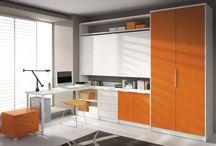Zonas de estudio / Mobiliario para zonas de estudio y despachos para niños y jóvenes