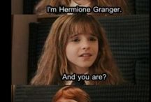 hermiome granger and Ron weasly