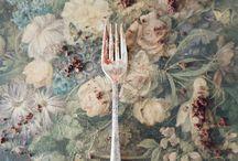 flatware, tables, etiquette, food